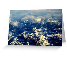 Rocky Tops Greeting Card