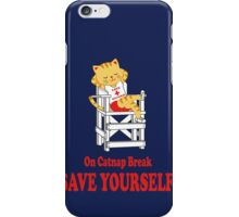 Save Yourself (Navy) iPhone Case/Skin
