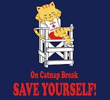 Save Yourself (Navy) by kirbeekatz