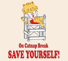 Save Yourself (Beige) by kirbeekatz