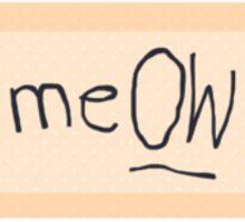 Taylor Swift meOW Bandaid Sticker