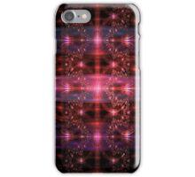 Royal Ruby Fractals iPhone Case/Skin