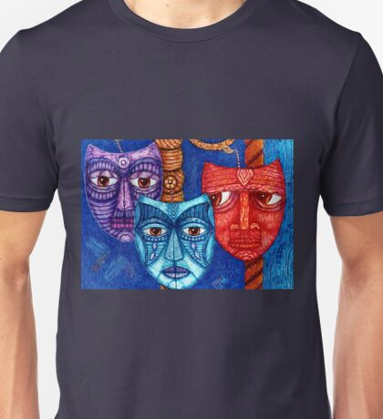 The sadness, the mistrust and the fatigue    Unisex T-Shirt