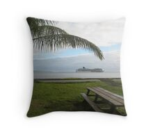 Hilo Bayfront Throw Pillow