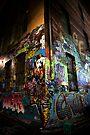 Graffiti Corner by Andrew Wilson