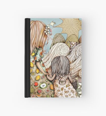 Beach Picnic Hardcover Journal