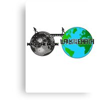 Walk the Moon & Walk off the Earth Blended Canvas Print