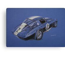 Corvette Grand Sport Canvas Print