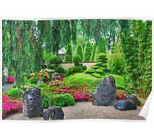 A tropical garden in Holland..... Poster