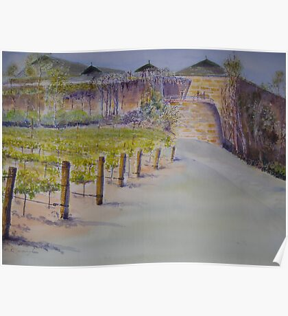Mt Hurtle Winery, South Australia Poster