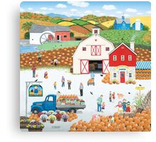 The Harvest Moon Canvas Print