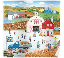 The Harvest Moon Poster
