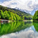 Lake Riessersee III. Germany. by Daidalos