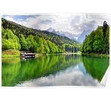 Lake Riessersee III. Germany. Poster