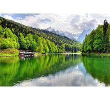 Lake Riessersee III. Germany. Photographic Print
