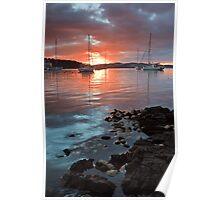 Kettering Sunrise, Tasmania Poster