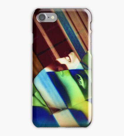 Through the bars iPhone Case/Skin