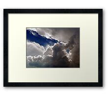 ©HCS Blue Sector IA04. Framed Print