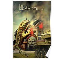 Beardzilla Poster