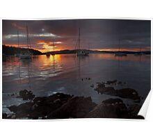 Kettering Sunrise, Tasmania #2 Poster