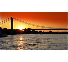 Cologne Sunset  Photographic Print