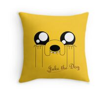 Jake the Adorable Throw Pillow