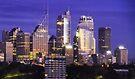 Sydney skyline at dawn by Robert Dettman