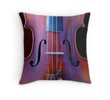 copy of Stradivarius 'Soil' 1714 © 2010 patricia vannucci  Throw Pillow