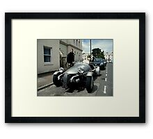 A Morgan? Framed Print