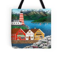 Puffin Point Tote Bag