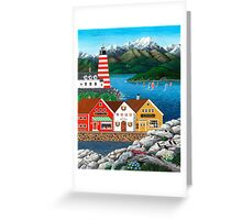 Puffin Point Greeting Card