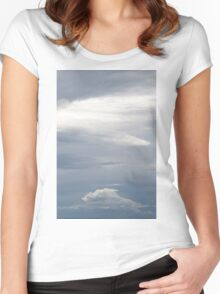 Cloudscape Women's Fitted Scoop T-Shirt