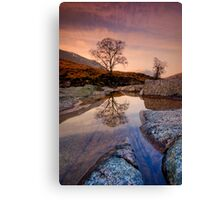 Glen Etive Geology Canvas Print