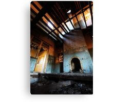not much left here..... Canvas Print