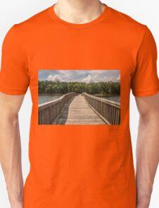 Wooden Bridge to Forest T-Shirt