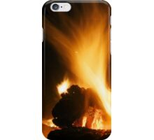 Winter fire iPhone Case/Skin