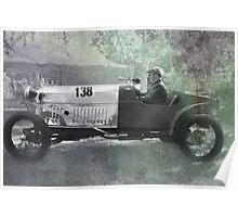 1921 Amilcar - Fully worked Poster