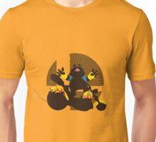 Wario (Riding Bike) - Sunset Shores Unisex T-Shirt