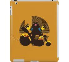 Wario (Riding Bike) - Sunset Shores iPad Case/Skin