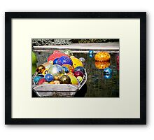 Glass on the Water Framed Print