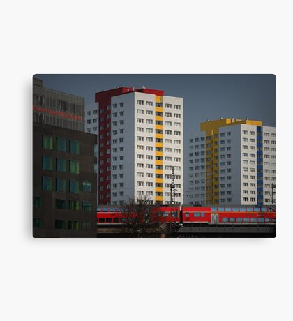 Berlin streetscape Canvas Print