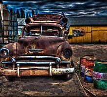 Old Car by Manfred Belau