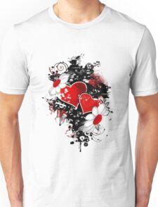 Fancy fashion hearts t-shirt Unisex T-Shirt
