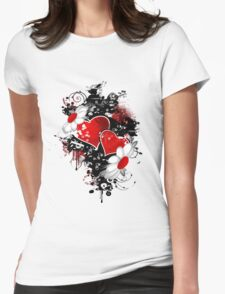 Fancy fashion hearts t-shirt T-Shirt