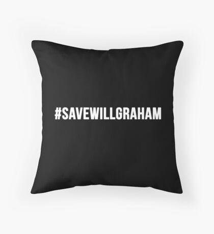 #SaveWillGraham 1 Throw Pillow