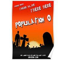 Population zero movie poster Poster