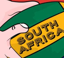 South Africa Rugby Sticker