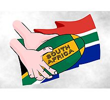 South Africa Rugby Photographic Print