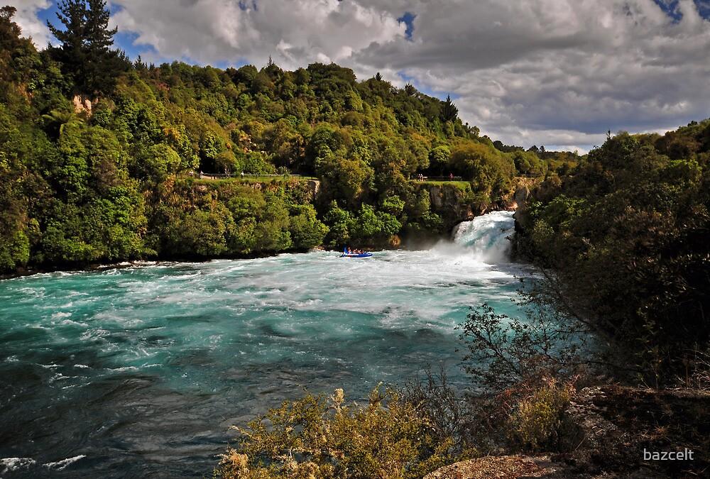 Huka Falls by bazcelt