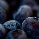Frozen Blueberrys  by sarahjayde